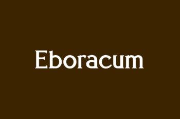 Eboracum Free Font