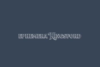 Ephemera Kingsford Free Font