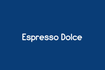 Espresso Dolce Free Font