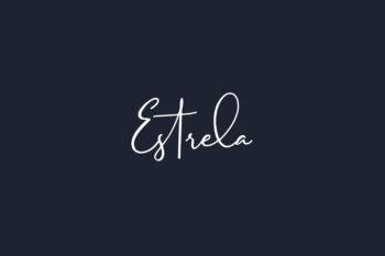Estrela Free Font