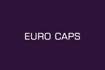 Euro Caps Free Font