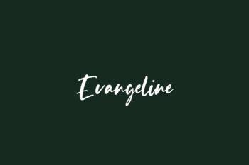 Evangeline Free Font