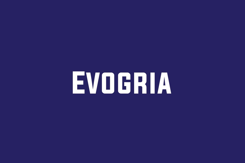 Evogria Free Font