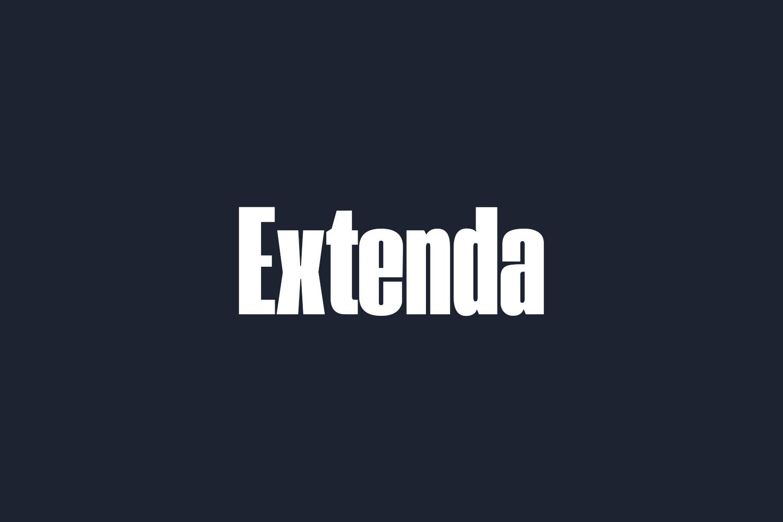 Extenda Free Font