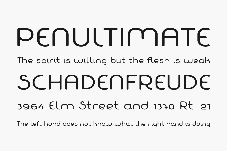 Fabada Free Font