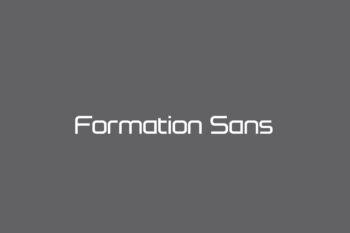 Formation Sans Free Font
