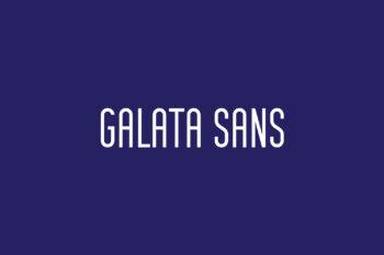 Galata Sans Free Font