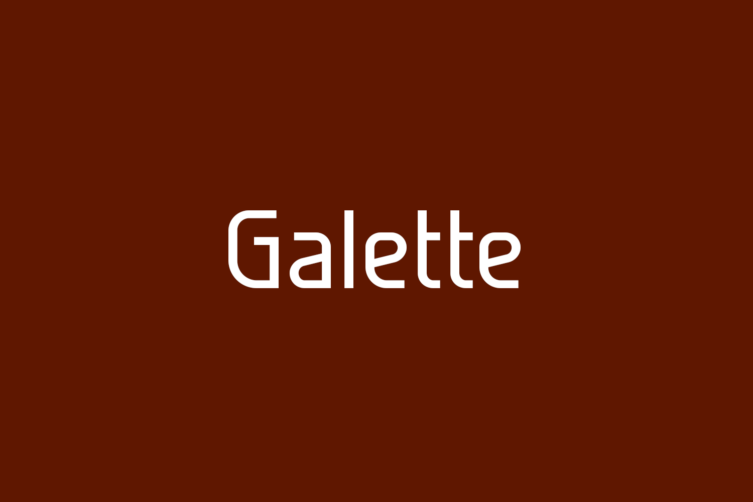 Galette Free Font