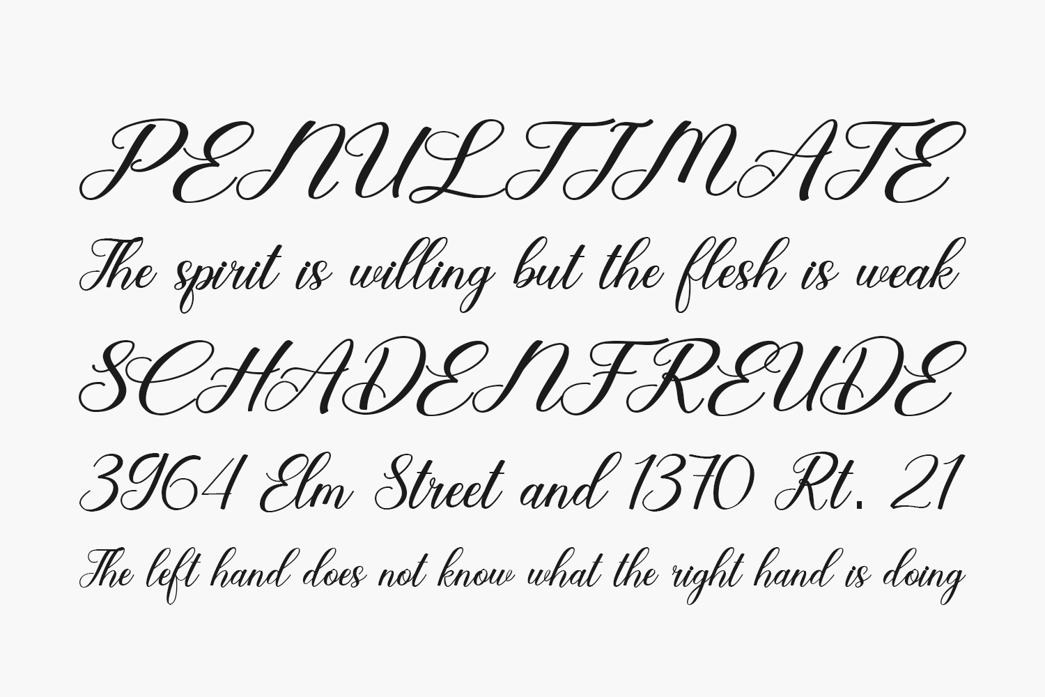 Garden Party Free Font