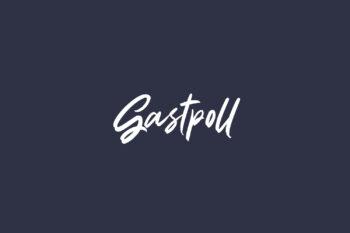 Gastpoll Free Font