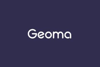 Geoma Free Font