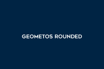 Geometos Rounded Free Font
