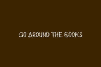Go around the books Free Font