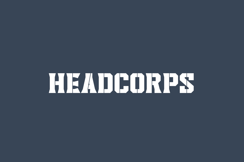 Headcorps Free Font