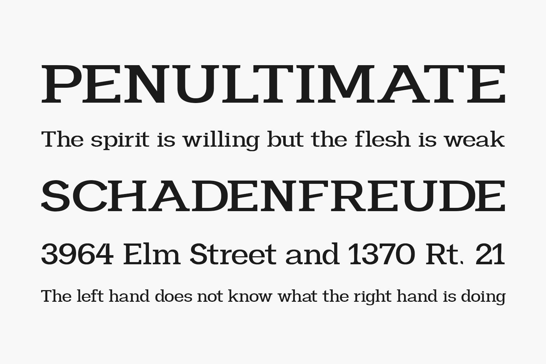 Heliony Free Font