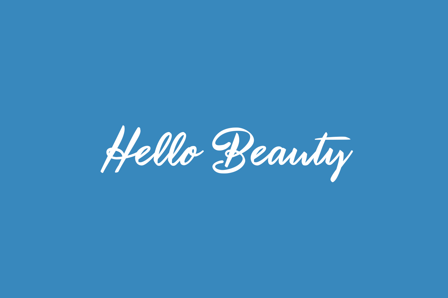 Hello Beauty Free Font