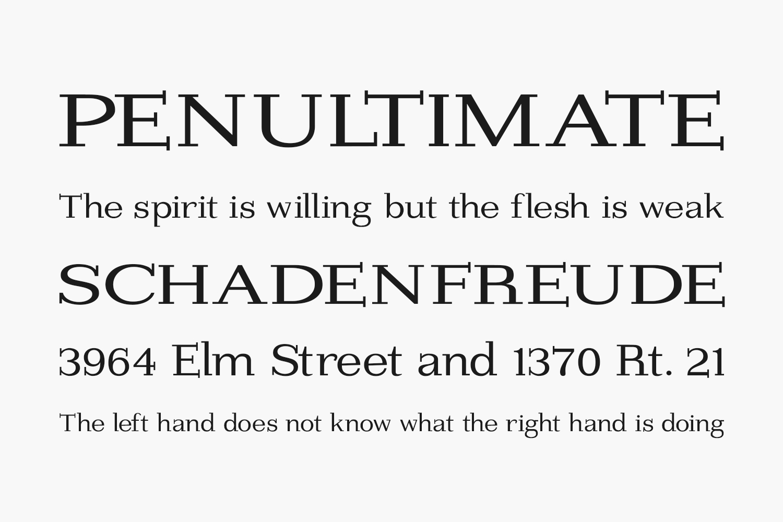 Imprimerie Free Font