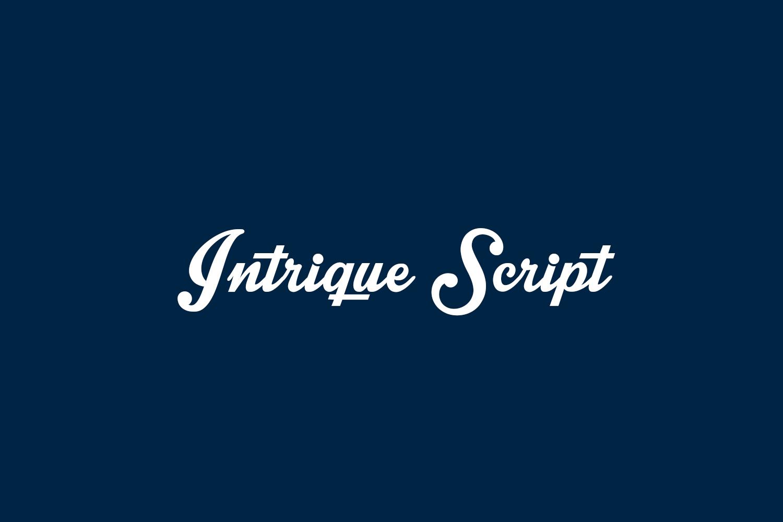Intrique Script Free Font