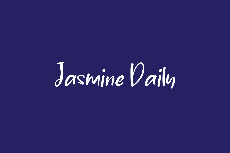 Jasmine Daily Free Font