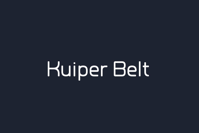Kuiper Belt Free Font