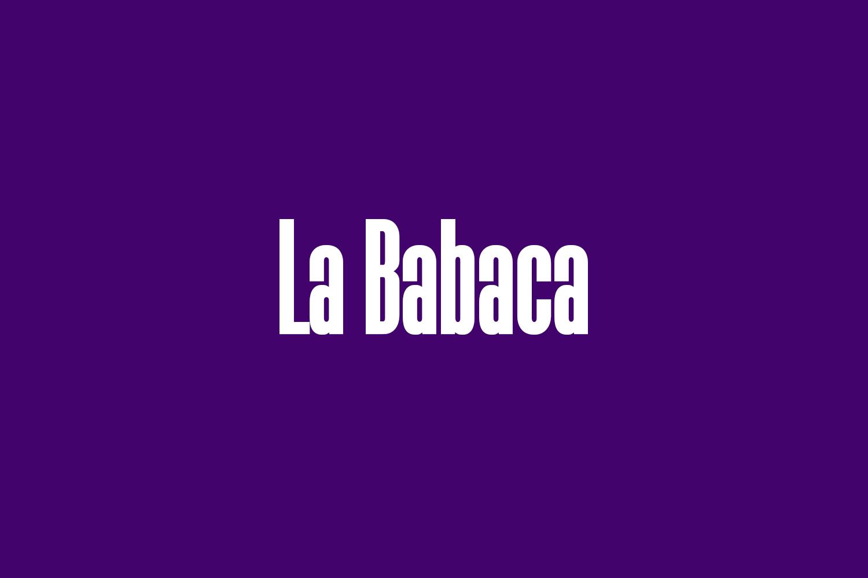 La Babaca Free Font