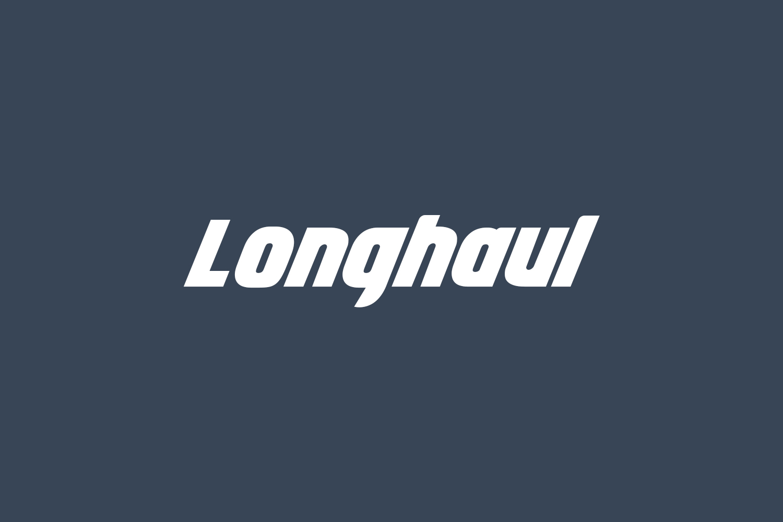 Longhaul Free Font