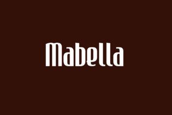 Mabella Free Font