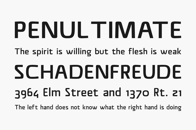 Material Sans Free Font