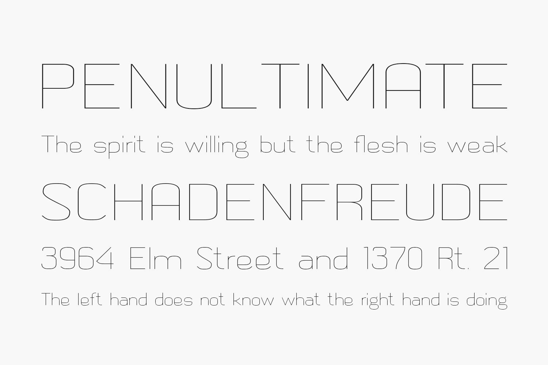 Metric Navy Free Font