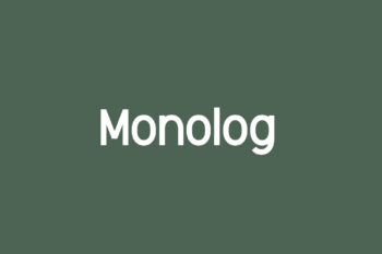 Monolog Free Font