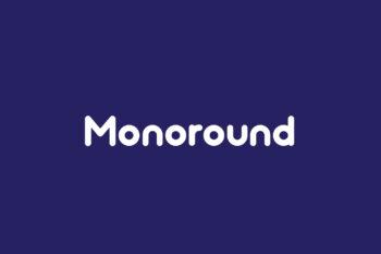 Monoround Free Font