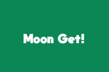 Moon Get! Free Font