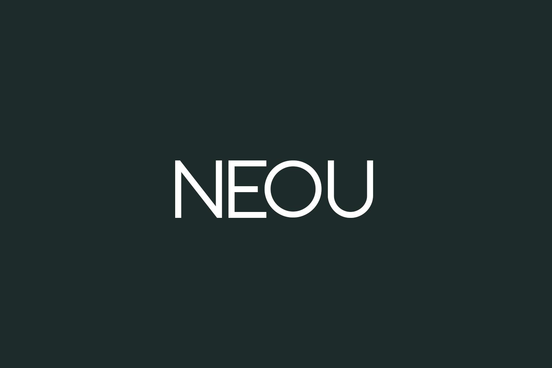 Neou Free Font