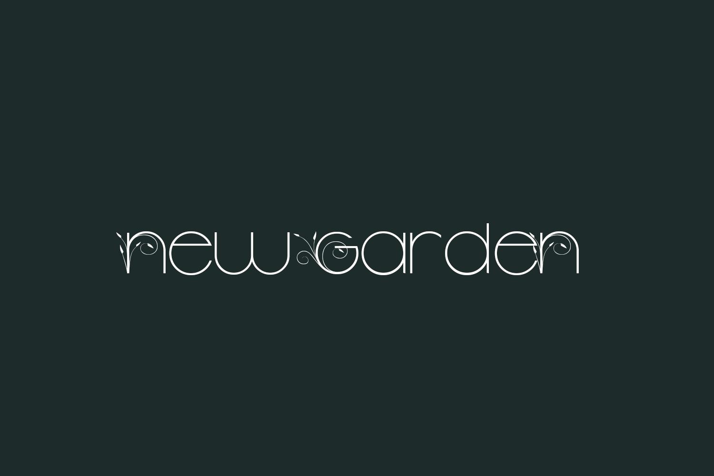 New Garden Free Font