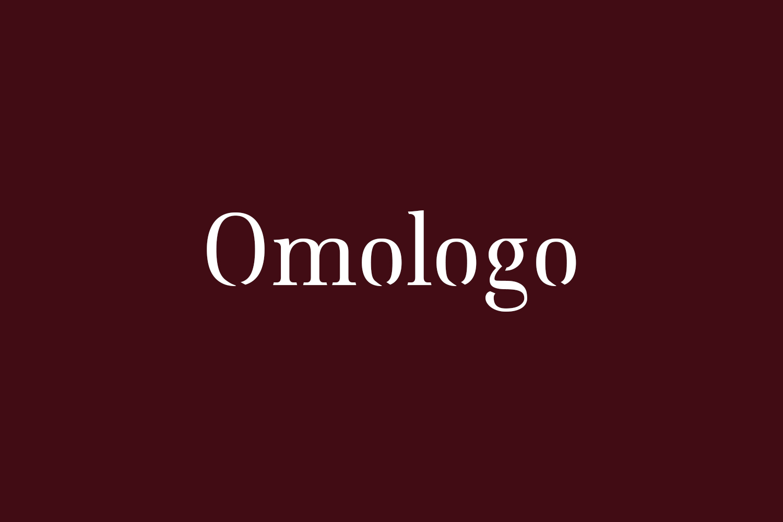 Omologo Free Font