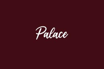 Palace Free Font