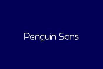 Penguin Sans Free Font