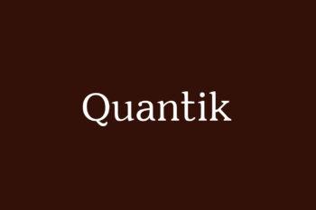 Quantik Free Font