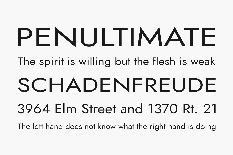 Renner Free Font