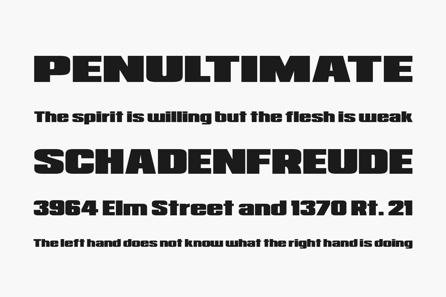 Republica Minor Free Font