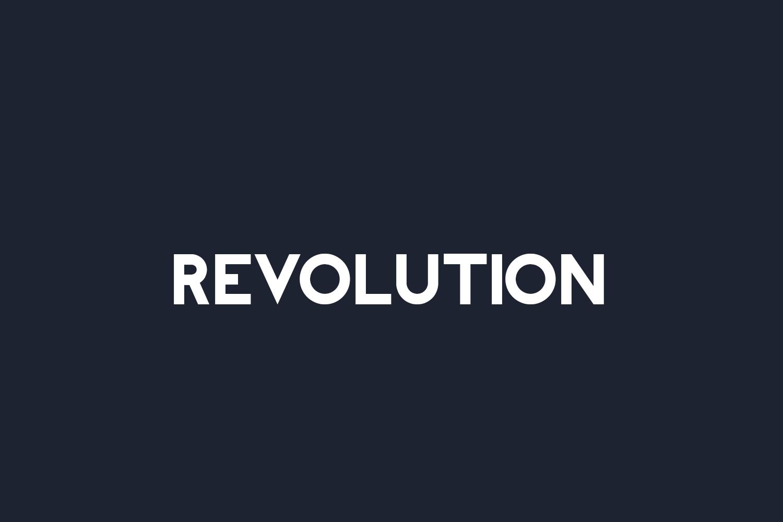 Revolution Free Font