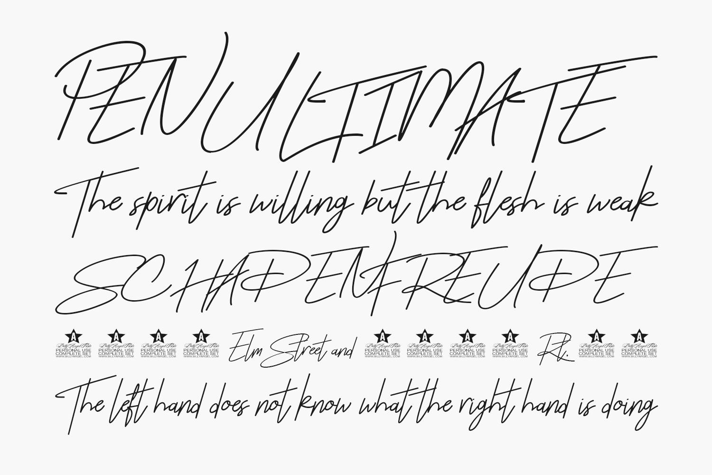 Rhesmanisa Free Font