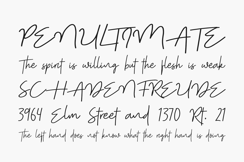 Shutter Stone Free Font