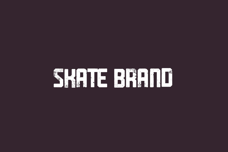 Skate Brand Free Font