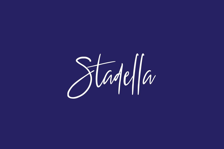 Stadella Free Font