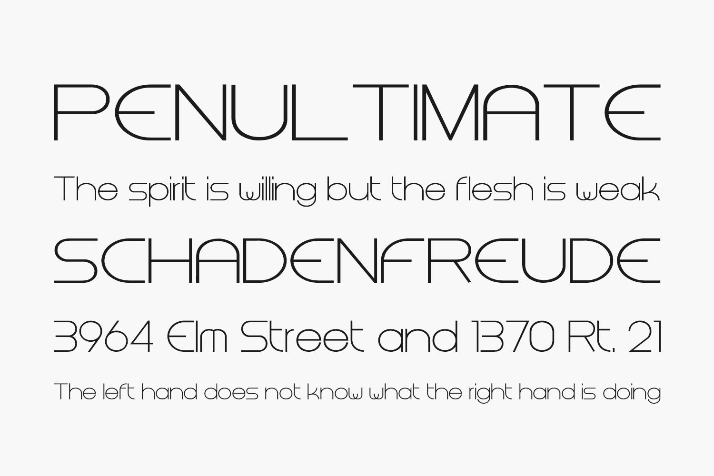 Steiner Free Font