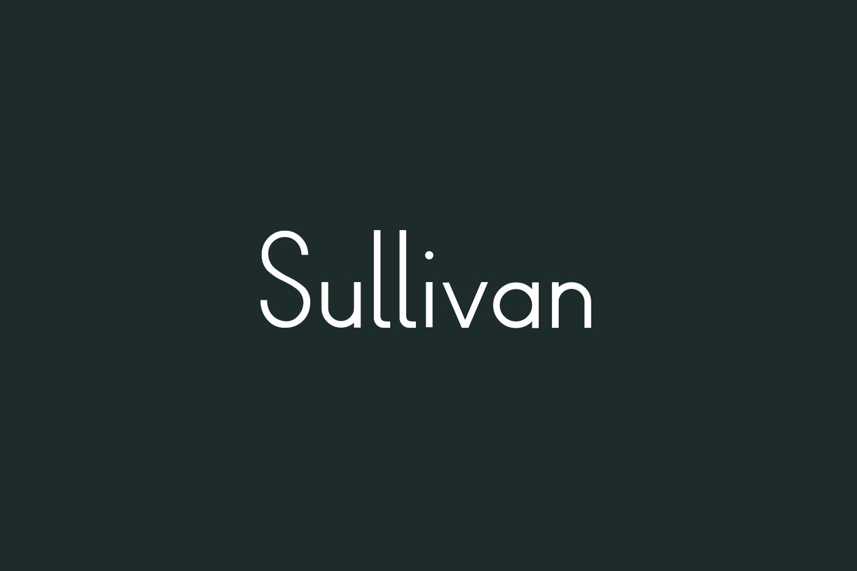 Sullivan Free Font