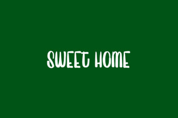 Sweet Home Free Font