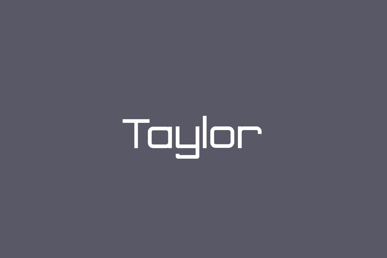 Taylor Free Font