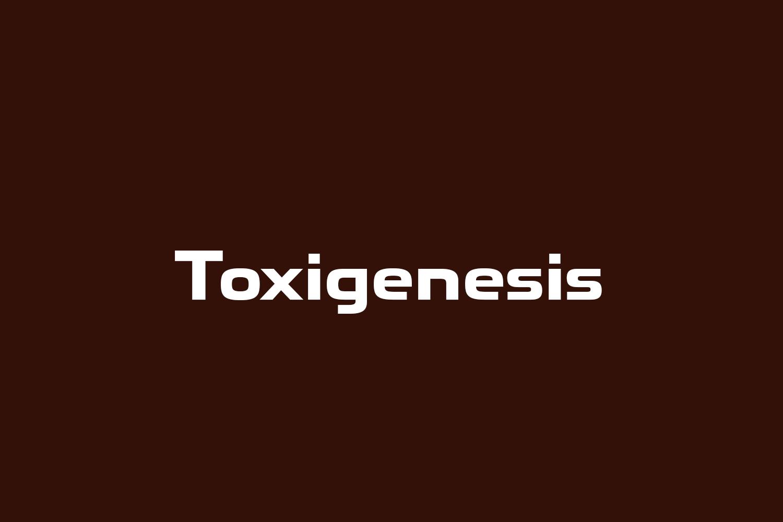 Toxigenesis Free Font